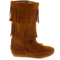 Shoes Of Soul Womens Fringe Side Zip Knee High Boots In Box