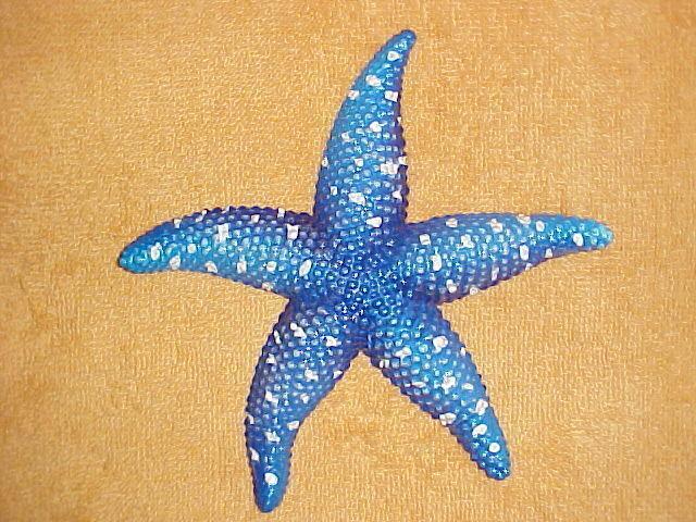 """6"""" STARFISH Wall Decor Nursery Ocean Beach Tropical Fish Bath Aquarium Nautical"""