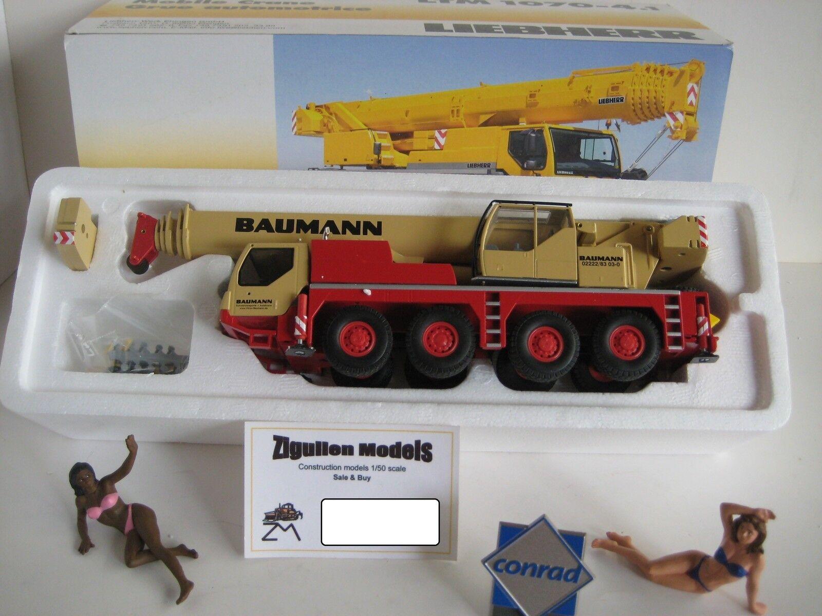 Liebherr LTM 1070-4.1 AUTO GRU Baumann  2100.32 Conrad 1 50 OVP