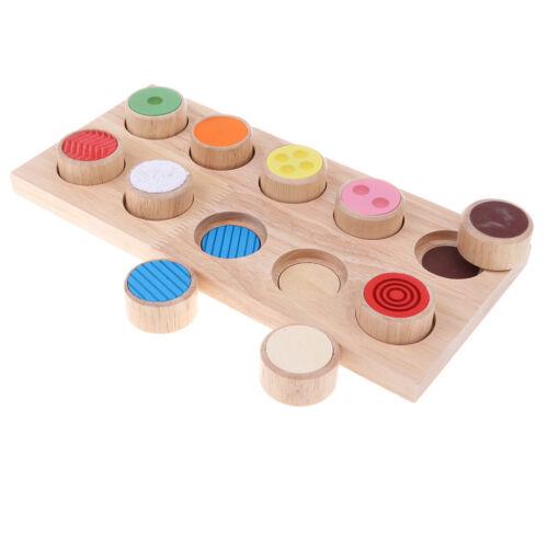 Montessori Sensor Verschiedene Stoffe zum Berühren Lernspielzeug, ab 3
