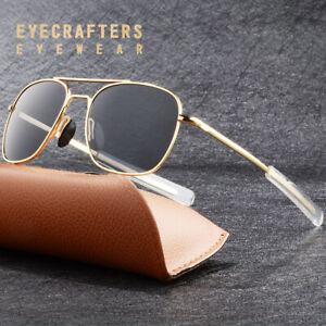 6d8c28198ba Image is loading Gold-Metal-Aviator-Sunglasses-Premium-Military-Pilot-Mens-