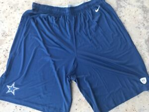 218f6355 Details about Dallas Cowboys Nike Player Practice Shorts 4XLT w/ pockets  Big Tall NEW