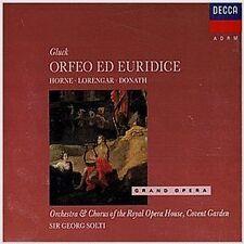 GLUCK Orpheus und Eurydike (Ga) Georg Solti ,Horne, Lorengar, Donath 2CD Neu