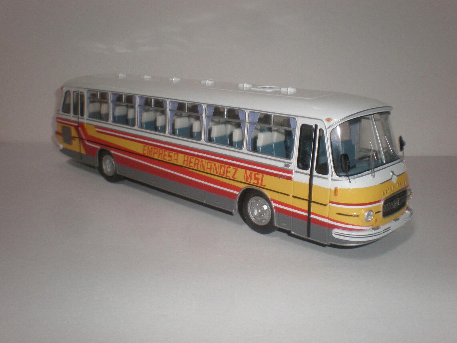 España Bus setra seida S 14 empresa Hernández Década de 1960 hecho a mano