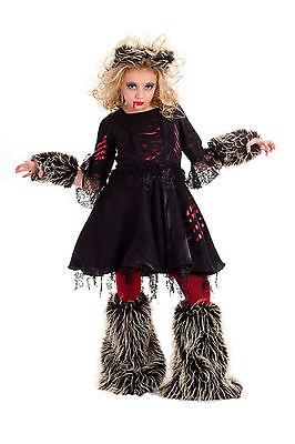 Howlette Were Wolf Werewolf Costume Princess Paradise Tween Girls 6/8 - 14/16