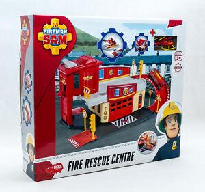 Feuerwehrmann-Sam-Feuerwehrstation-Station-Feuerwache-incl-Wallaby-Helikopter
