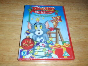 Tom and jerry christmas paws for a holiday dvd gift