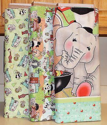 Bazooples Choo Choo Panel Softbook /& Coordinating Fabrics SOLD SEPARATELY bty