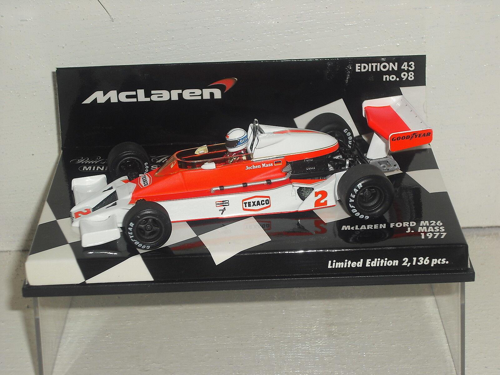 Minichamps McLaren ford M26 J. Mass 530 774302