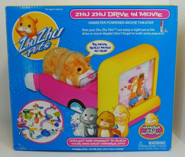 Zhu Zhu Pets Drive In Movie Theater Brand New In Box For Sale Online