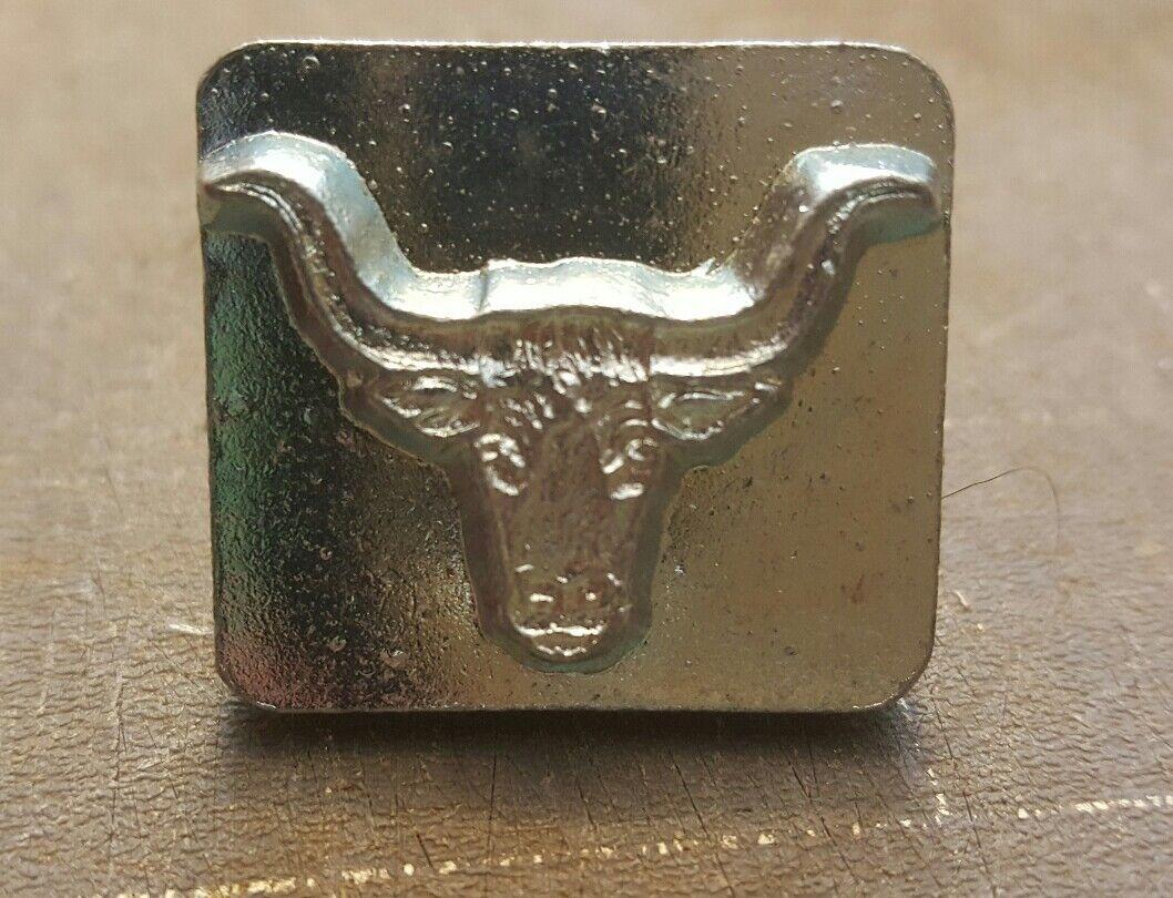 Longhorn Craftool 3-d Stamp