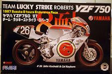 1987 YAMAHA 750 YZF Team Lucky Strike Roberts, 1:12, FUJIMI 141367