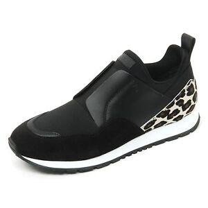 B9618 sneaker donna TOD'S scarpa sportivo yo nero/maculato shoe woman [39] 5fYtI7