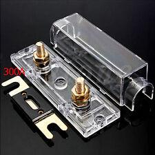 300AMP ANL Fuse Holder Distribution Fuseholder INLINE 0 4 8 GA Positive