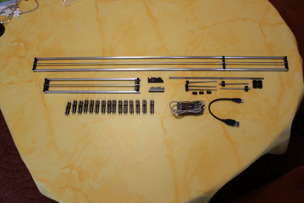 Rollenprüfstand TT von KPF-Zeller 6 Laufkatzen 415mm lang
