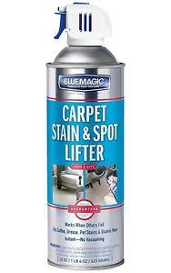 Blue Magic Home Auto Car Carpet Stain Spot Lifter Coffee Blood Pet 1 Step 22 Oz 77336900120 Ebay