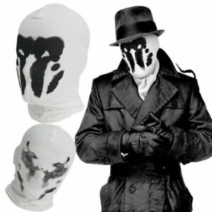New-WATCHMEN-Rorschach-039-s-Mask-Movie-Ver-Balaclava-Halloween-Cosplay-Props