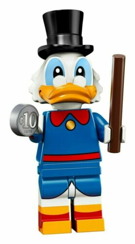 coldis2-6 New Lego Scrooge McDuck Minifigure From Disney Series 2