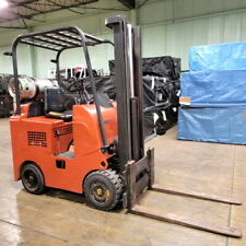 Clark Forklift 5000 Lift Cap Heavy Duty Propane Forklift With 2550 Hrs