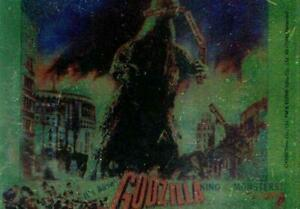 GODZILLA-KING-OF-THE-MONSTERS-Puzzle-Chase-Card-Chewing-Train-Cars