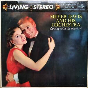 RCA LIVING STEREO LSP-1756 *SHADED DOG* DANCING WITH THE *MEYER DAVIS*1S/1S* VG