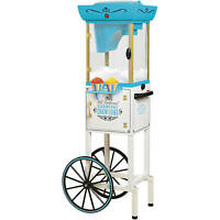 Snow Cone Machine For Kids Maker Vintage Cart Ice Shaver Storage Smoothies