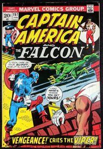 Captain-America-1968-157-FN-6-5-1st-app-Viper