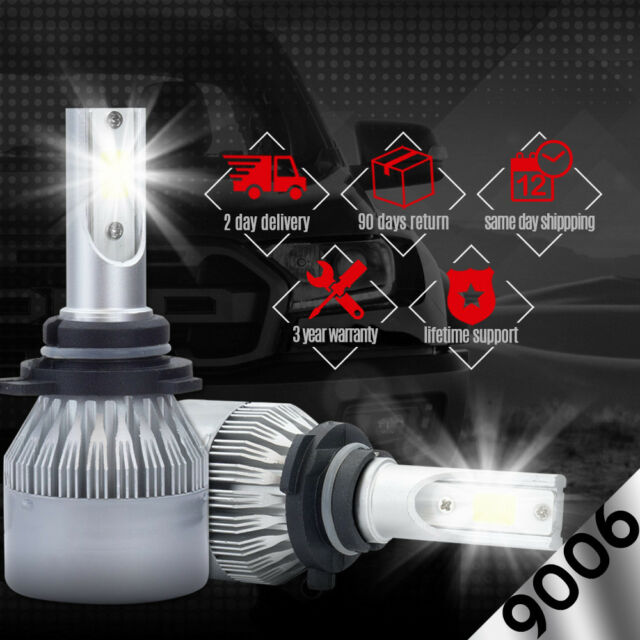 CREE COB 9006 HB4 9012 388W 38800LM LED Headlight Kit Low Beam Power Bulb 6500K