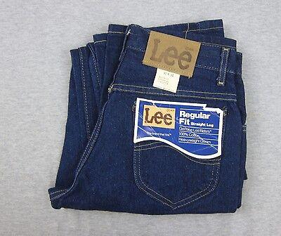 Vintage NEW Men's LEE Riders Regular Fit Blue Denim Jeans NWT 29x33 Deadstock