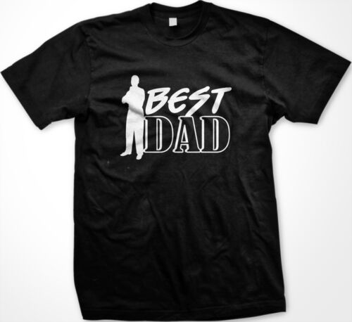 Best Dad Fathers Day Pops Daddy Grandfather #1 Figure New Men/'s T-shirt