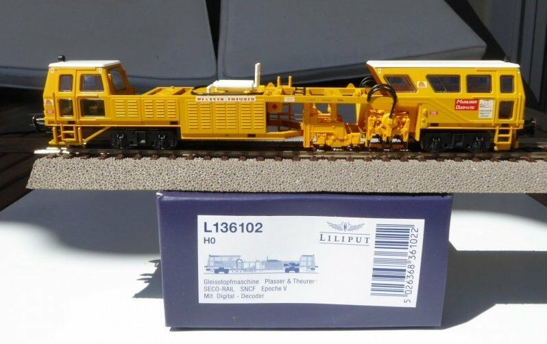 Liliput 136102 Máquina Bateadora Plasser&theurer SNCF EP 4. 5 Digital, Pvp