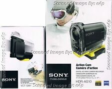 SONY ACTION CAM HDR-AS10 FULL HD WATERPROOF BUNDLE NEW FACTORY SEALED RETAIL!!!!