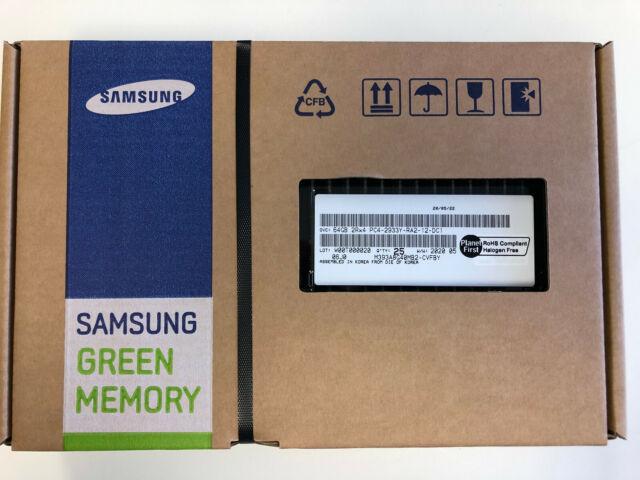 M393A8G40MB2-CVF Samsung DDR4-2933 64GB/4Gx4 ECC/REG Server Memory NEW