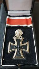 ✚7496✚ German Iron Cross Knight Cross Oak Leaves medal post WW2 1957 pattern STL