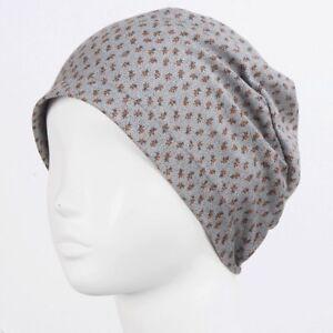 1b0942d01ad Summer Thin Soft Cotton Beanie Women Sleep Cap Chemo Hair Loss Hats ...