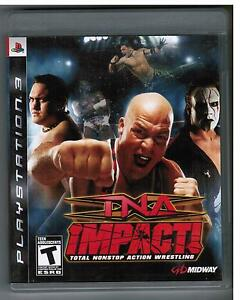 TNA IMPACT! TOTAL NONSTOP ACTION WRESTLING PS3 PLAYSTATION 3 impact non-stop