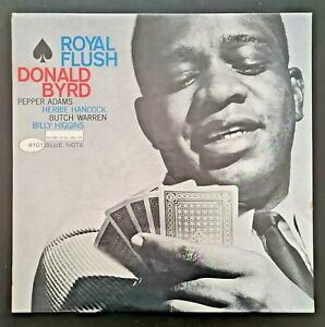 DONALD-BYRD-ROYAL-FLUSH-LP-orig-BLUE-NOTE-1st-Mono-VAN-GELDER-039-EAR-039-DG-NM