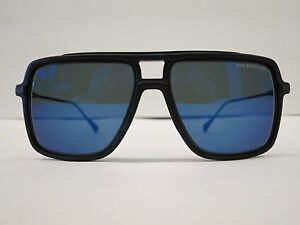 e3b3e828d378 Image is loading DITA-WESTBOUND-Matte-Black-Blue-Flash-Glasses-Eyewear-