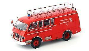 Citroen Typ 350 Belphegor Feuerwehr 1966 1 43 Model AUTOCULT