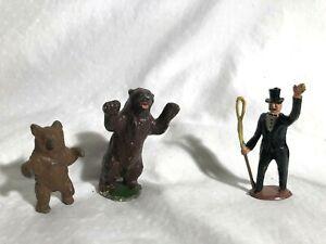 Vintage-Britain-039-s-Charbens-Cherilea-Mixed-Lot-Lead-Circus-Figures