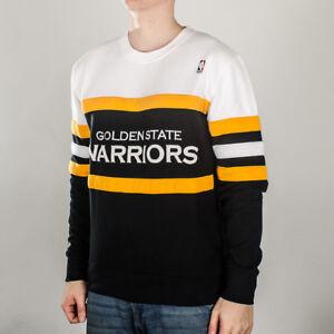 5448a08e194 Mitchell   Ness NBA Golden State Warriors Coach Sweatshirt 611T ...