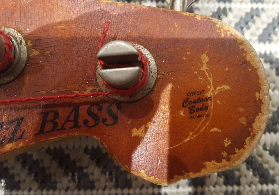 Elbas, Fender Jazz Bass 1970