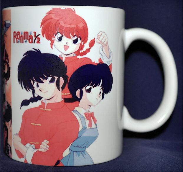 RANMA 1/2 - Coffee MUG - CUP - Anime Manga Characters