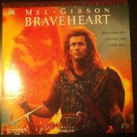►►LASER VIDÉO - BRAVEHEART -  M. GIBSON - S. MARCEAU - VO - NTSC - 2 DISQUES◄◄