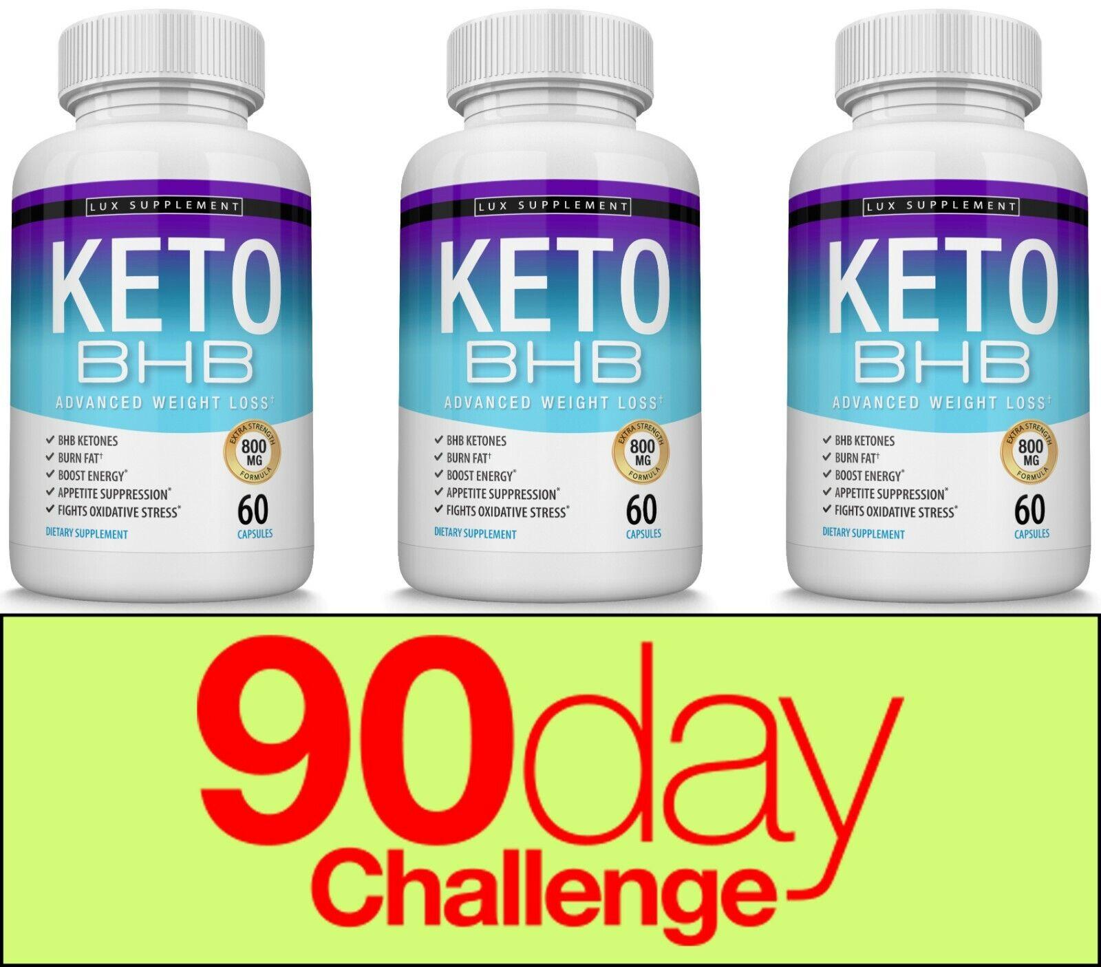 Keto Diet Pills BHB Advanced Ketosis Weight Loss To Burn Fat Fast 3 Month Supply s l1600