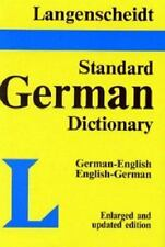 Langenscheidt's Standard German Dictionary: English-German German-English (Lange