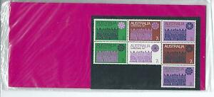 1971-Christmas-Block-7-stamps-in-Stamp-Pack-sealed-and-Unopened-as-Purchased