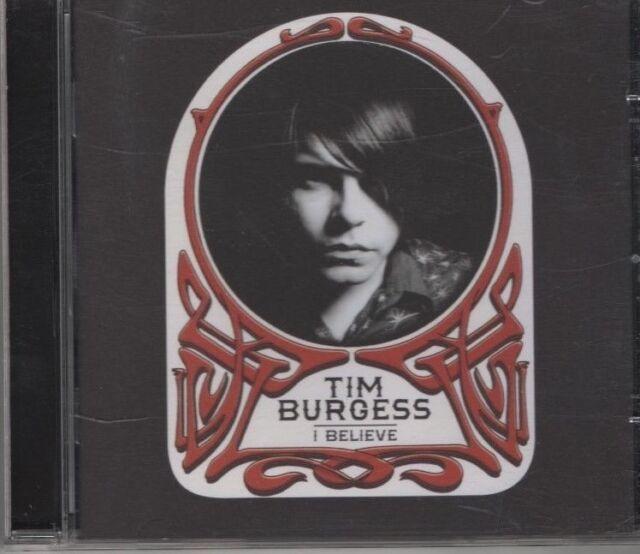 TIM BURGESS I believe  CD ALBUM  NEW - NOT SEALED