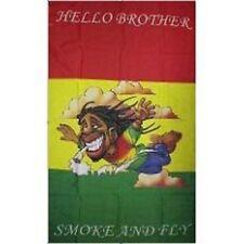 Hello Brother Jamaican 3'x5' Novelty Flag Smoke Fly