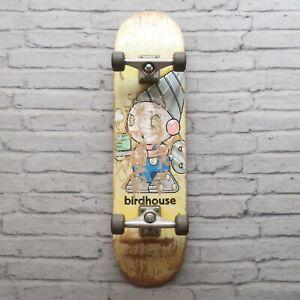 Vintage-90s-Birdhouse-Skateboard-Complete-Skate-Early-Independent-Trucks